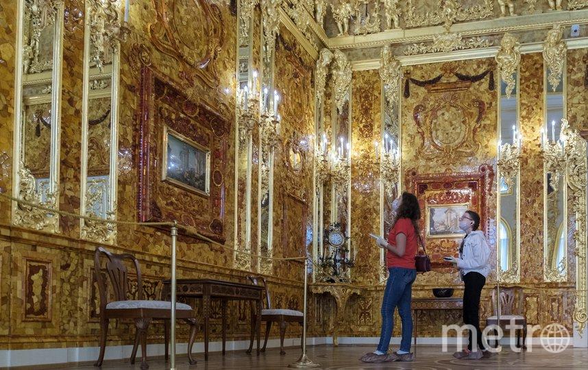 """Екатерининский дворец принял первых посетителей. Фото Алена Бобрович, """"Metro"""""""