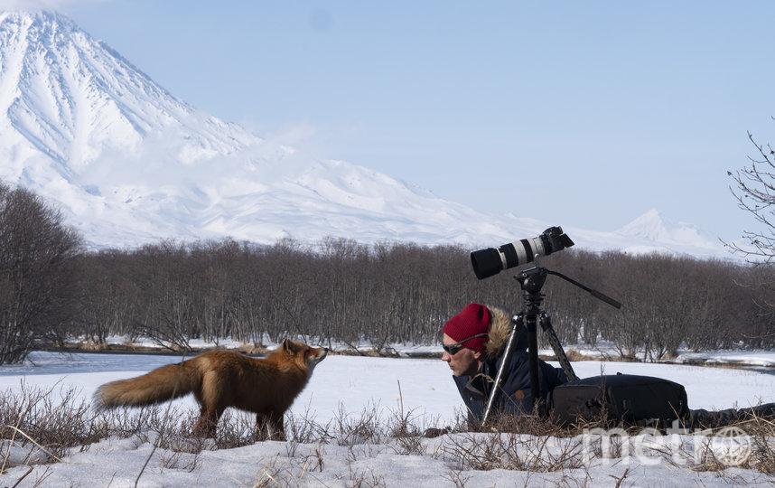 Над фильмом работает только один оператор – Дмитрий Шпиленок. Фото Анна Сухова