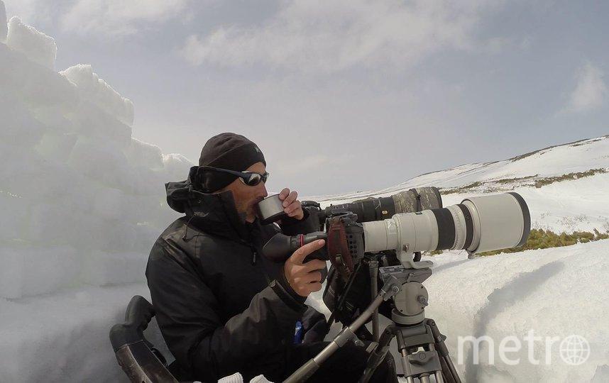 Над фильмом работает только один оператор – Дмитрий Шпиленок. Фото Василий Русин