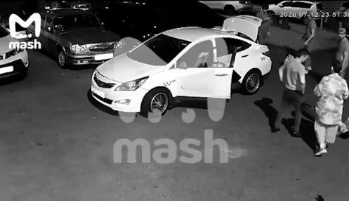Инцидент произошёл вечером 12 июля. Фото скриншот mash.ru