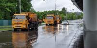 Синоптики предупредили об угрозе подтоплений в Москве