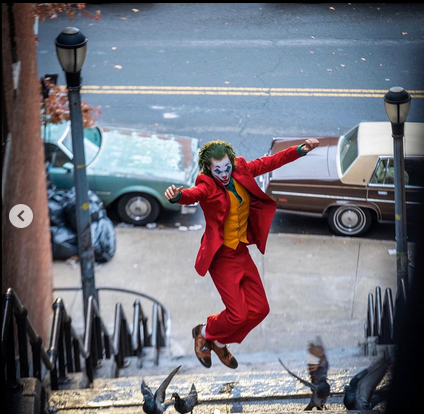 "Кадр со съёмок ""Джокера"". Фото скриншот: instagram.com/toddphillips1/"