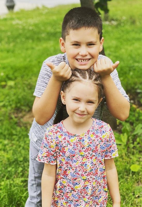 Дети Агаты и Павла. Фото Instagram @