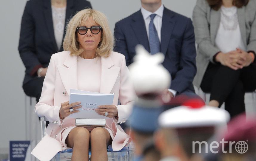 Супруга президента Франции Бриджит Макрон. Фото AFP