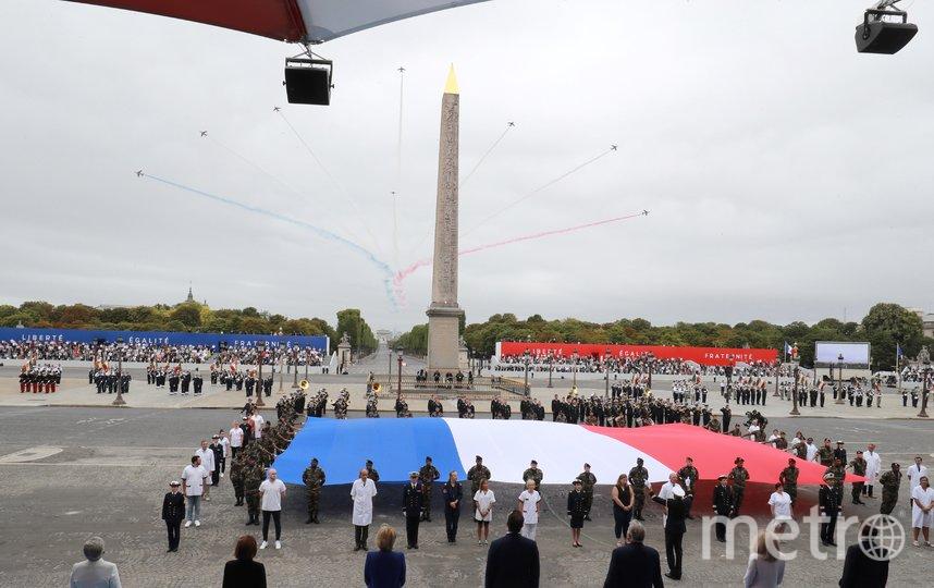 Празднование Дня взятия Бастилии в Париже. Фото AFP