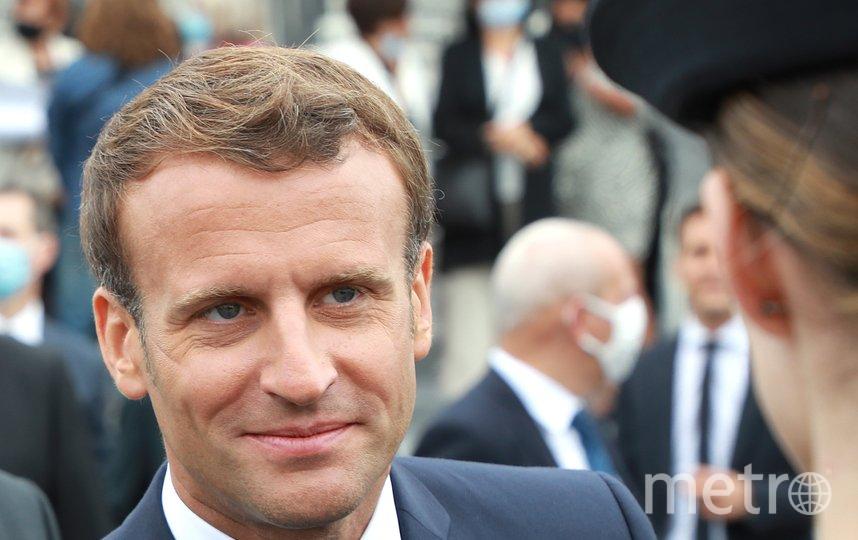 Президент Франции Эммануэль Макрон. Фото AFP