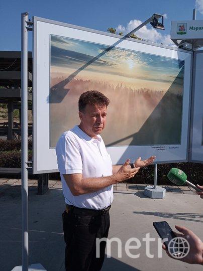 "Энтузиаст-фотолюбитель Валерий Безрученко. Фото Алина Шангареева, ""Metro"""