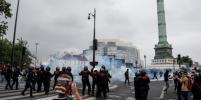 В центре Парижа на акции медиков произошли столкновения с полицией