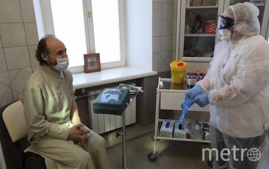 """Результаты исследования будут поступать в электронную карту пациента в течение трех дней. Фото агентство """"Москва"""""""