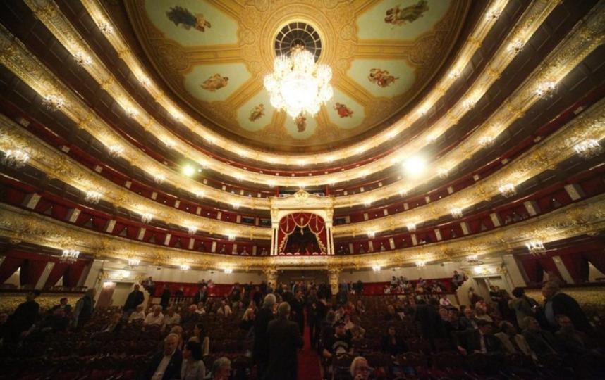 "Большой театр тоже ждёт зрителей. Фото АГН ""Москва""/Сергей Ведяшкин"