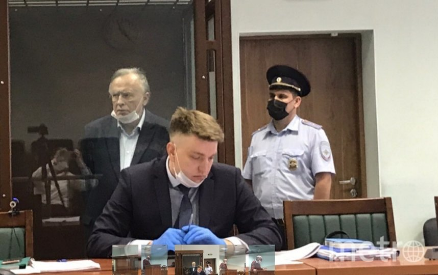 Фото с процесса по уголовному делу в отношении Олега Соколова. Фото Объединенная пресс-служба судов Петербурга.