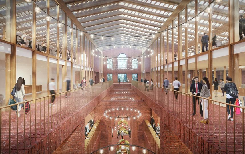 Концепция проекта разработана швейцарским архитектурным бюро – лауреатом Притцкеровской премии – Herzog & de Meuron. Фото stroi.mos.ru