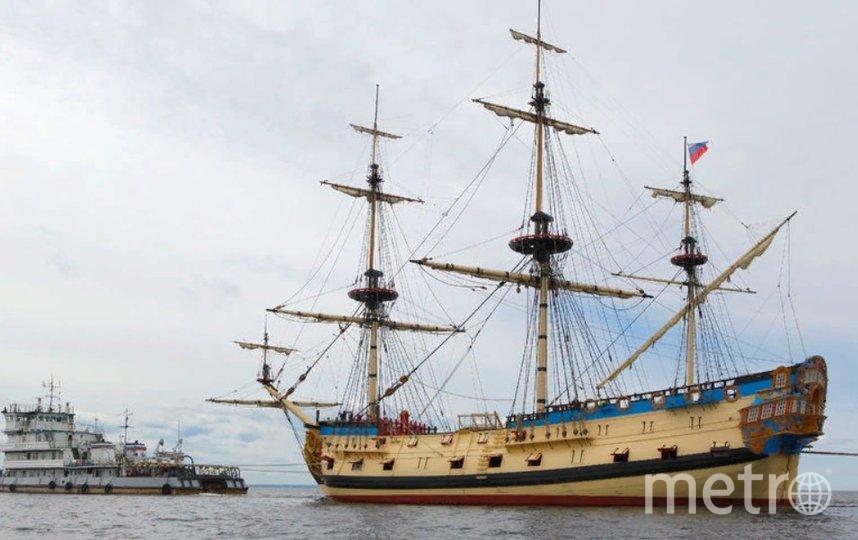 """Полтава"". Фото Фото Яхт-клуба Санкт-Петербурга."