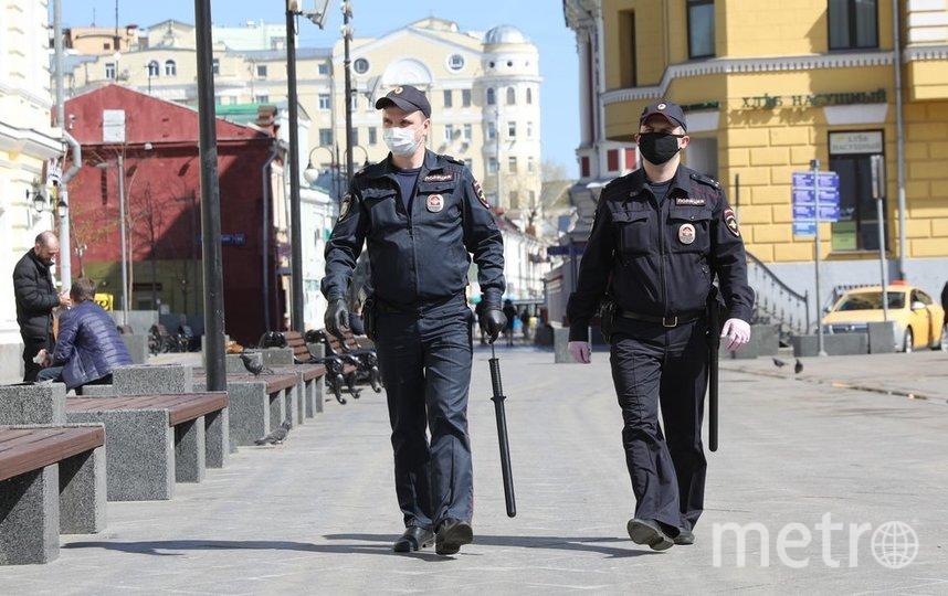"Полиция Москвы, архивное фото. Фото агентство ""Москва"""