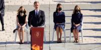 В Испании почтили память погибших от коронавируса