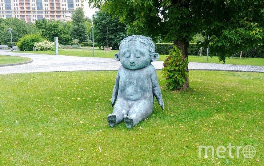 """Скульптуры, подаренные на день рождения парку. Фото АГН """"Москва"""""""