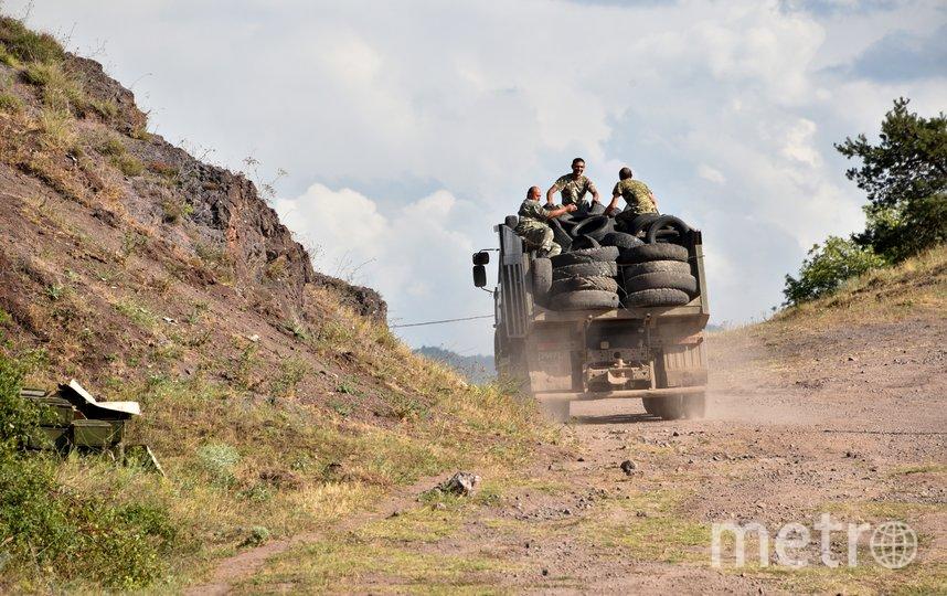 Боевые действия на границе начались в воскресенье 12 июля. Фото AFP