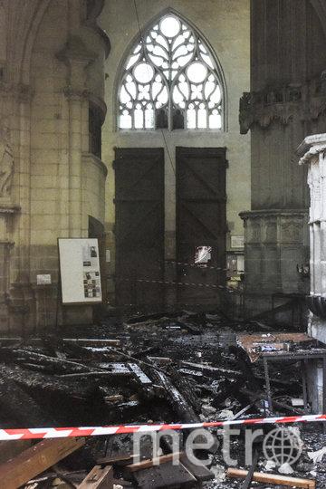 Фото изнутри собора. Фото AFP