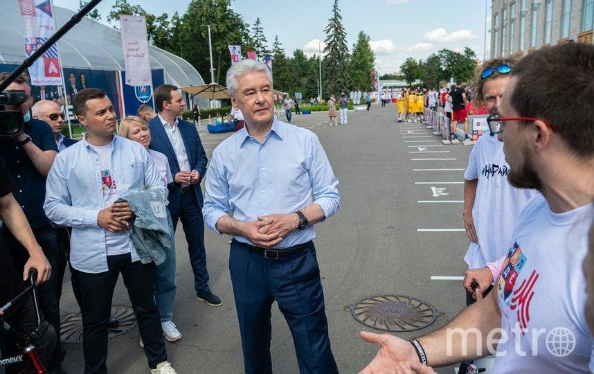 Сергей Собянин. Фото пресс-служба мэра и правительства Москвы. Максим Мишин