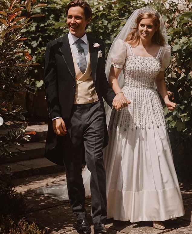 Долгожданная свадьба. Фото Instagram @theroyalfamily