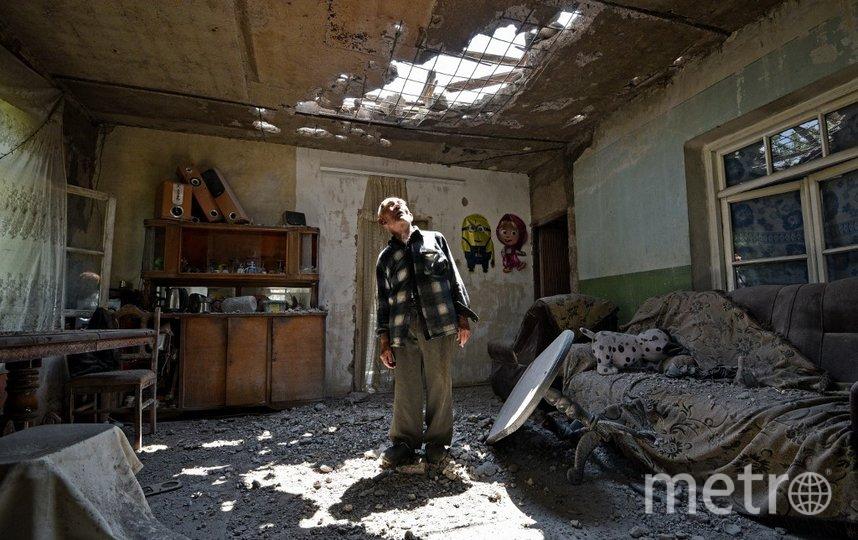 Бои на границе Армении и Азербайджана начались ещё 12 июля. Фото AFP