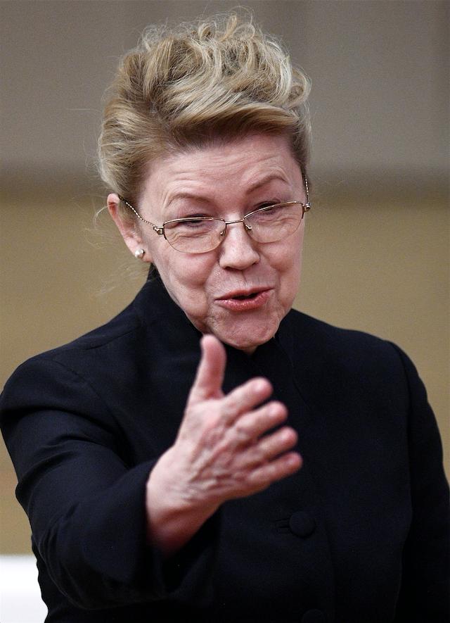 Елена Мизулина, сенатор. Фото Рамиль Ситдиков, РИА Новости