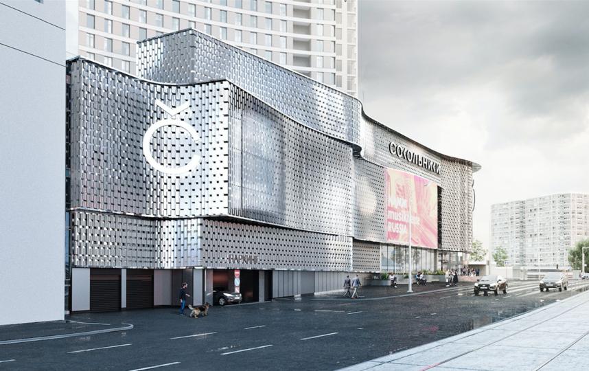 """Так будет выглядеть здание у станции метро """"Сокольники"""" к концу этого года. Фото stroi.mos.ru"""