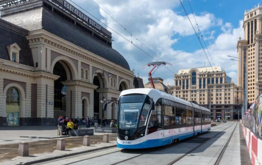 """""""Аннушка"""" начнёт ходить по новому маршруту. Фото twitter.com/mosgortrans_ru"""
