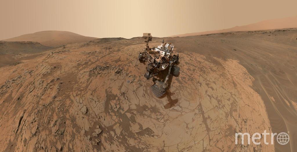 Марсоход «Кьюриосити» достиг Красной планеты 6 августа 2012 года, чтобы собрать информацию для миссии NASA в 2020 году. Фото Getty