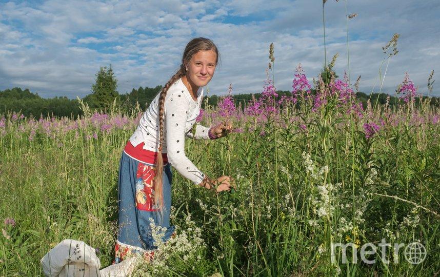 """Олеся Кирбятьева собирает в день несколько десятков кг листа и осваивает все этапы производства чая. Фото Алена Бобрович, """"Metro"""""""
