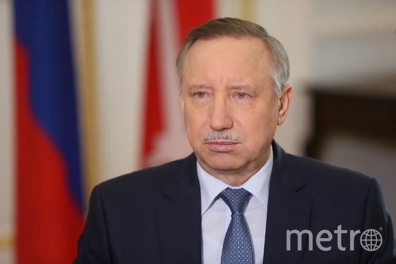 Александр Беглов. Фото gov.spb.ru.