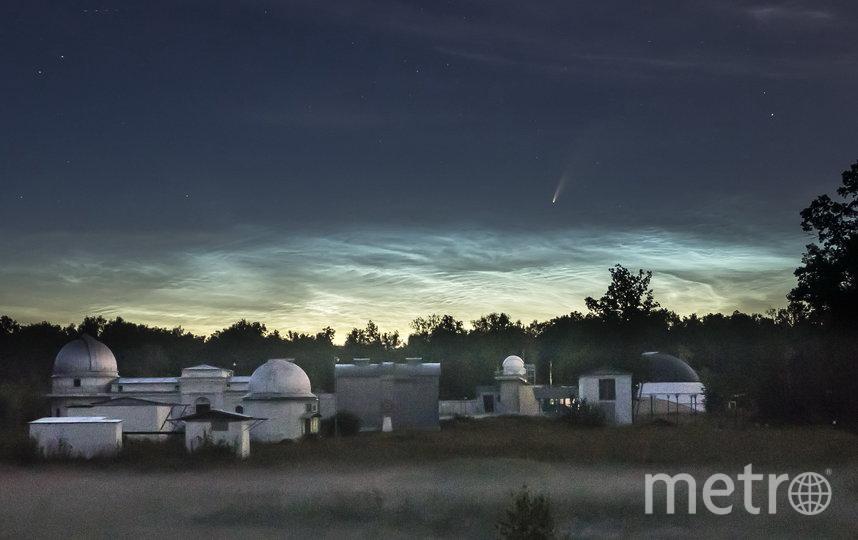 Астроном КФУ уже сфотографировал хвостатую космическую гостью. Фото Роман Жучков, Предоставлено организаторами