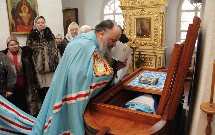 """Феодор Ушаков в своей земной жизни был доблестным флотоводцем. Фото https://vk.com/sanaksari, """"Metro"""""""