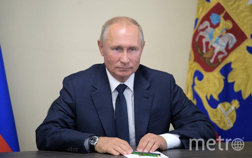 Владимир Путин, президент России. Фото AFP