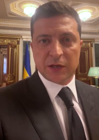Президент Украины Владимир Зеленский. Фото https://www.facebook.com/zelenskiy95