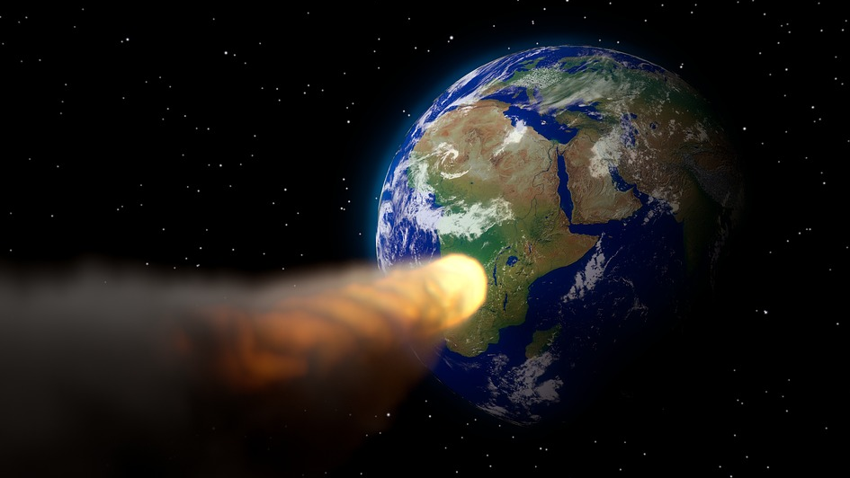 Учёные полагают, что во время этой чудовищной бомбардировки общая масса астероидов, столкнувшихся с Землей, была в 30-60 раз больше, чем масса астероида, ответственного за вымирание динозавров 66 миллионов лет назад и оставившего на память кратер Чикшулуб. Архивное фото. Фото pixabay.com
