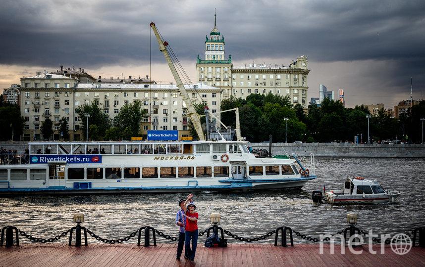 В Москве пока пасмурно. Фото AFP