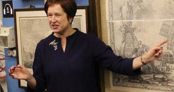 Ольга Слепенкова, старший научный сотрудник Музея истории Санкт-Петербурга.