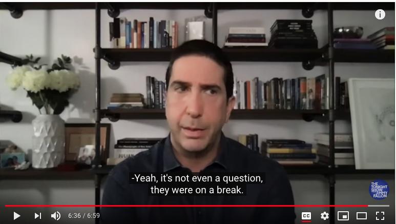 Дэвид Швиммер в гостях у Джимми Фэллона. Фото Скриншот Youtube