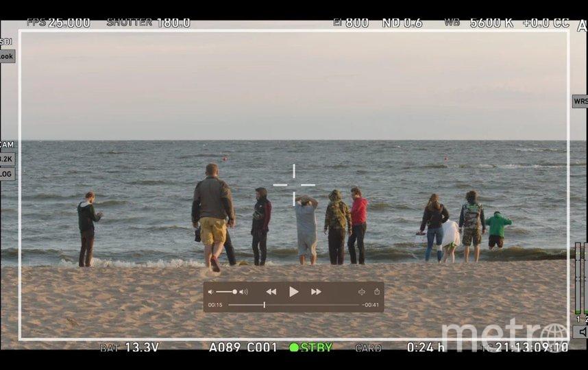 Съёмочная группа ищет телефон. Фото PR «Киностудия КИТ»