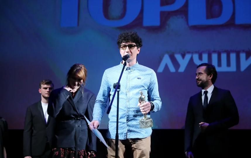 """Радик Рахимов, режиссёр фильма """"Альфаромео"""", получивший главную награду. Фото Геннадий Авраменко"""