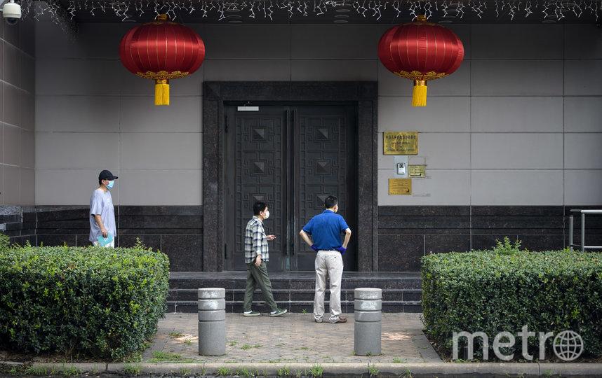 Власти США потребовали закрыть консульство Китая в Хьюстоне 22 июля. Фото AFP