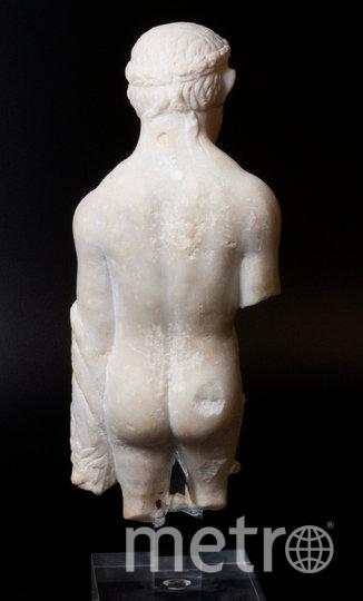 Что скрывает треснувшая римская мраморная статуэтка. Фото twitter, @YorkshireMuseum