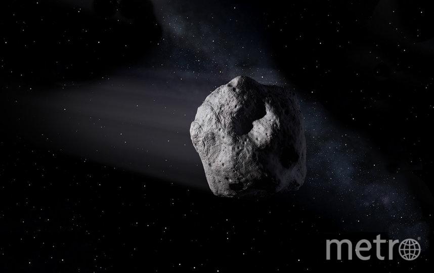 Один из способов изменить траекторию астероида – покрасить его. Фото NASA