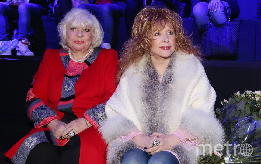 Алла Пугачёва (справа) на Неделе моды в Москве (архивное фото). Фото Getty
