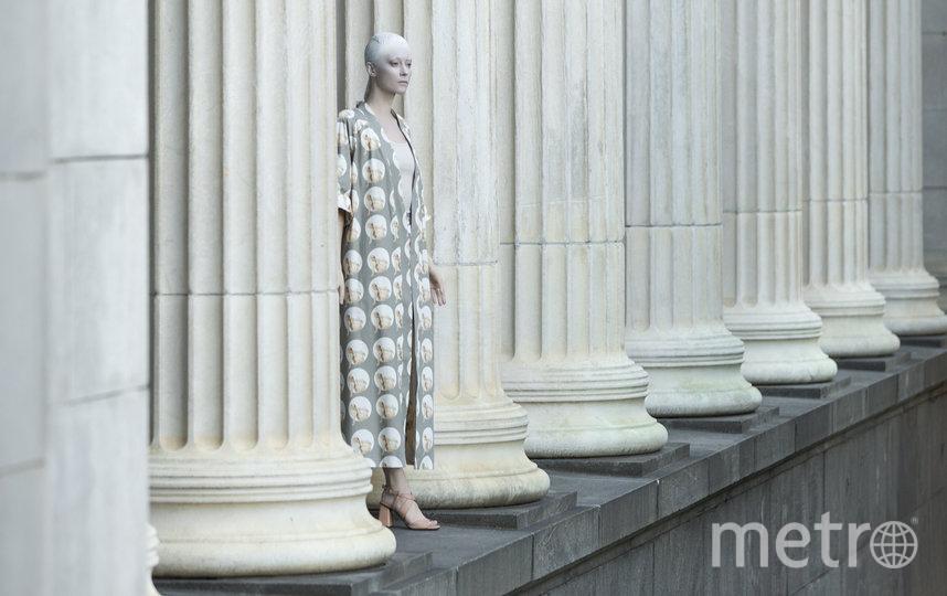 Съёмка совместной коллекции Пушкинского музея и бренда Kochetkova. Фото Предоставлено организаторами