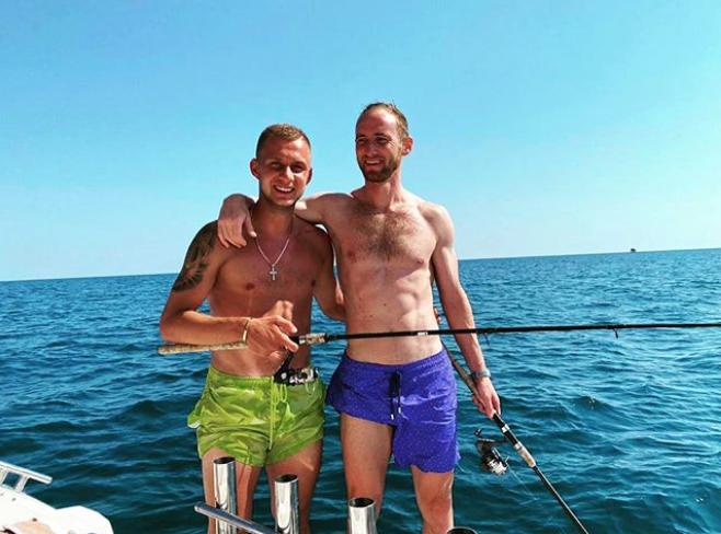 Баринов и Игнатьев. Фото instagram @ignatev_vlad