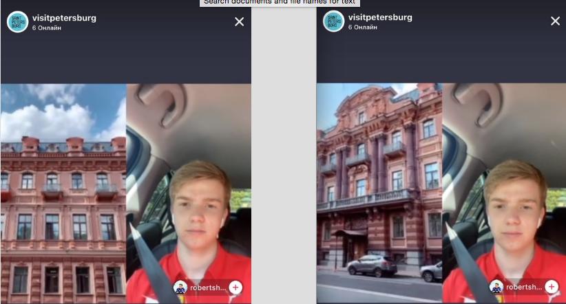 """Онлайн экскурсия по Конногвардейскому бульвару в Санкт-Петербурге. Фото Скриншот TikTok: @visitpetersburg, """"Metro"""""""