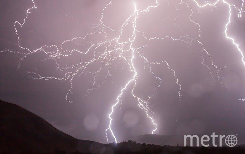 От молнии пострадали жители столицы. Архивное фото. Фото pixabay