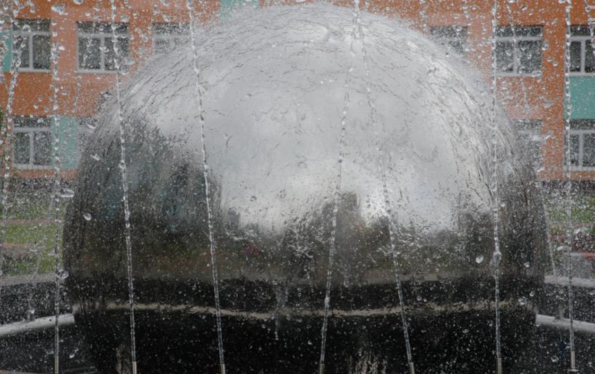 """Новый фонтан в Приморском районе. Фото gov.spb.ru, """"Metro"""""""